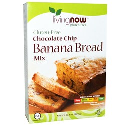 Now Foods Chocolate Chip Banana Bread Mix