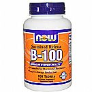 Now Foods Vitamin B-100 Sustained Release