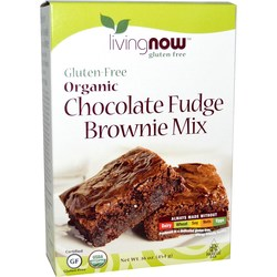 Now Foods Chocolate Fudge Brownie Mix