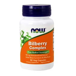 Now Foods Bilberry Complex