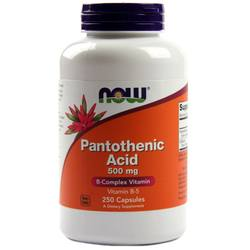 Now Foods Pantothenic Acid
