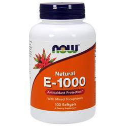 Now Foods Vitamin E Mixed Tocopherols