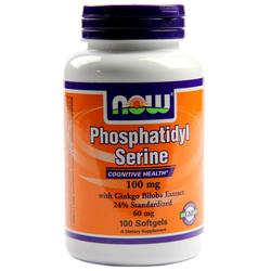 Now Foods Phosphatidyl Serine 100 Mg