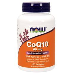 Now Foods CoQ10 with Omega 3 Fish Oil