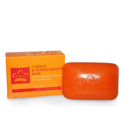 Nubian Heritage Carrot  Pomegranate Soap