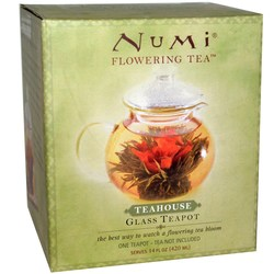 Numi Tea Glass Tea Pot