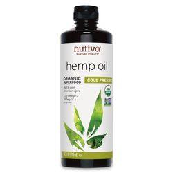 Nutiva Organic Hempseed Oil Liquid