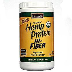 Nutiva Organic Hemp Protein Plus Fiber