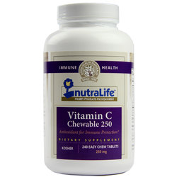 NutraLife Chewable Vitamin C