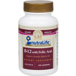 NutraLife B-12 with Folic Acid