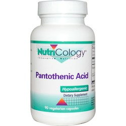 Nutricology Pantothenic Acid 500 mg