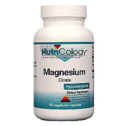 Nutricology Magnesium Citrate 170 mg