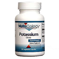 Nutricology Potassium Citrate
