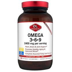 Olympian Labs Omega 3-6-9 2400 mg