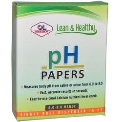 Olympian Labs PH Papers 6.0 to 8.0 Range
