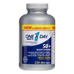 One-A-Day 50+ Men's Healthy Advantage- Multivitamin