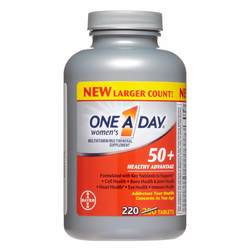 One-A-Day 50+ Women's Healthy Advantage- Multivitamin
