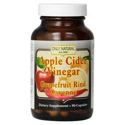 Only Natural Apple Cider Vinegar- Grapefruit  Cayenne