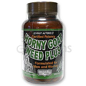 Only Natural Horny Goat Weed Plus