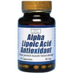 Only Natural Alpha Lipoic Acid Anitoxidant