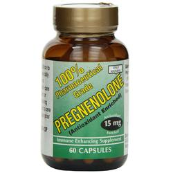 Only Natural Pregnenolone 15 mg