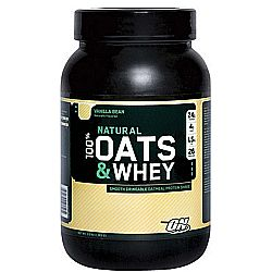 Optimum Nutrition Oats  Whey Protein Powder