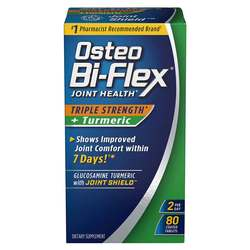 Osteo Bi-Flex Triple Strength Joint Health Plus Turmeric