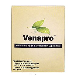 Pacific Naturals Venapro 1 Kit Evitamins Com