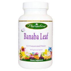 Paradise Herbs Banaba Leaf