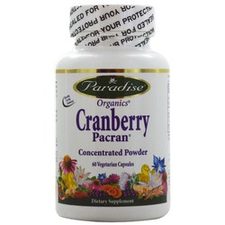 Paradise Herbs Organic Cranberry Pacran