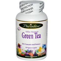 Paradise Herbs Yellow Mountain Green Tea Extract
