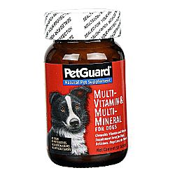 PetGuard Multi-Vitamin and Minerals for Dogs