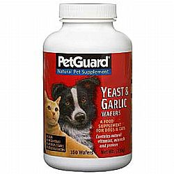 PetGuard Yeast and Garlic Wafers