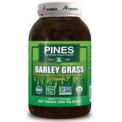 Pines International Barley Grass Powder 500 mg