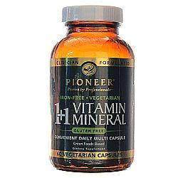 Pioneer 1+1 Vitamin Mineral