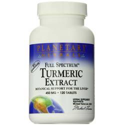 Planetary Herbals Full Spectrum Turmeric Extract
