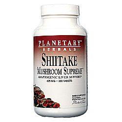 Planetary Herbals Shiitake Mushroom Supreme