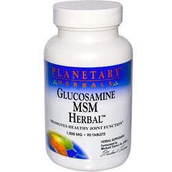 Planetary Herbals Glucosamine - MSM Herbal