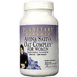 Planetary Herbals Avena Sativa Oat Complex for Women