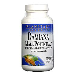 Planetary Herbals Damiana Male Potential 575 mg