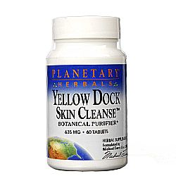 Planetary Herbals Yellow Dock Skin Cleanse