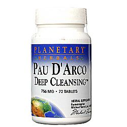Planetary Herbals Pau D'Arco Deep Cleansing
