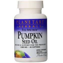 Planetary Herbals Full Spectrum Pumpkin Seed Oil