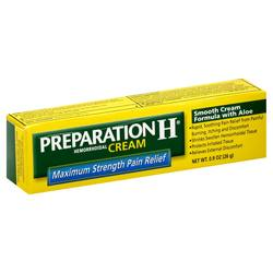 Preparation H Maximum Strength Pain Relief Cream