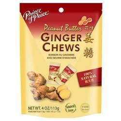 Prince of Peace Peanut Butter Ginger Chews