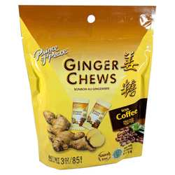 Prince of Peace Ginger Chews with Coffee