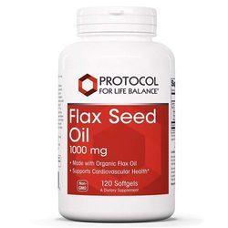 Protocol for Life Balance Flax Seed Oil