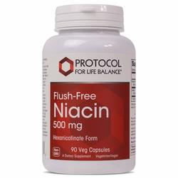 Protocol for Life Balance Flush-Free Niacin 500 mg