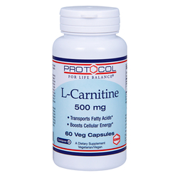 Protocol for Life Balance L-Carnitine 500 mg