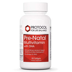 Protocol for Life Balance Pre-Natal Multivitamin with DHA